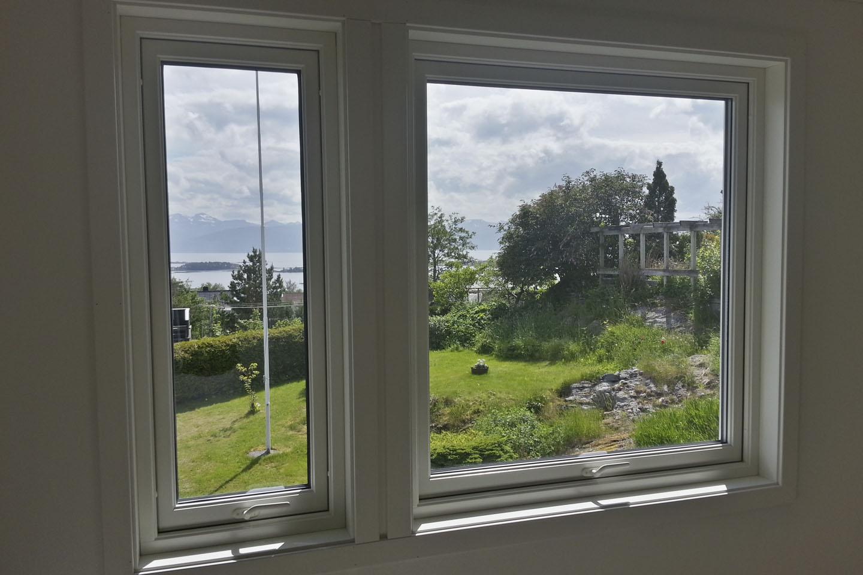 Nytt montert vindu